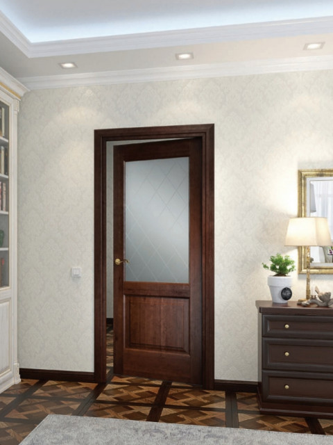 Selection of wooden interior doors in Dubai